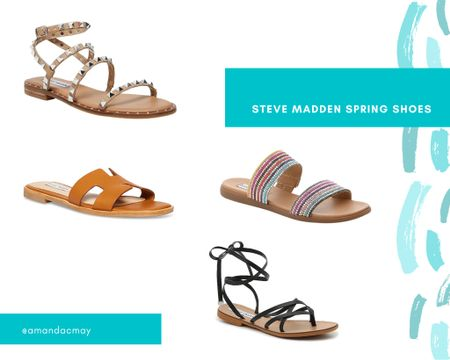 Linking some spring shoes from DSW! They are all Steve Madden and are the perfect accessories for any outfit! Don't forget at DSW you can buy online and get free in store pickup ✨💗  #LTKunder100 #LTKSeasonal #LTKshoecrush