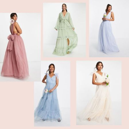 Party dresses 💫 we got you covered for for all the parties that are coming up..  linked this stunning and affordable dresses we added to our shopping basket  🛒   #LTKeurope #LTKwedding #LTKunder100