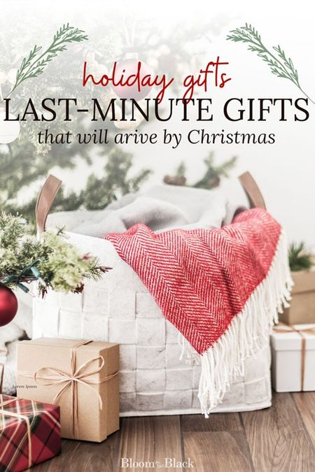 Running out of time? Grab these last-minute holiday gifts that will arrive in time for Christmas!   #LTKgiftspo #LTKhome #LTKkids