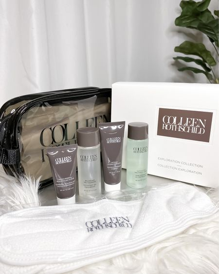 ⚠️ The Colleen Rothschild Exploration Collection (on sale right now!)💃🏽 is a great way to get your hands on some of the best CR skincare products. The kit includes the Balancing Gel Cleaner, Matcha Tea Treatment Toner, Intense Hydrating Mask, Micro-Mineral Resurfacing Scrub, CR ultra-soft headwrap, and of course an exclusive CR travel bag. And with code LUCKY50 you can get this kit (BOGO 50% off)💥 at a steal. My personal favorite is the Macha Tea Treatment Toner! Tagged everything for you below + some of my CR favorites.🎉  #LTKbeauty #LTKsalealert #LTKSpringSale