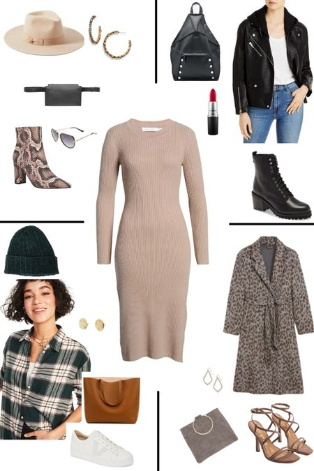 A neutral sweater dress is such a versatile basic and this one is a bargain at just $49! Comes in tan and charcoal. Look how easy it is to switch up the styling for dramatically different looks. http://liketk.it/39qh3 @liketoknow.it #liketkit #LTKSeasonal #LTKsalealert #LTKstyletip #LTKunder50 @liketoknow.it.europe