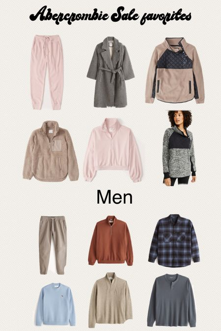 Abercrombie sale favorites, Abercrombie men favorites, fleece pull over   #LTKsalealert #LTKSeasonal #LTKmens