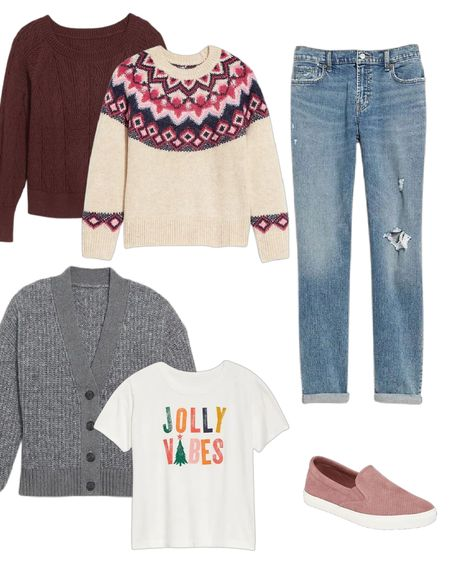 Sale alert 🚨 🚨🚨 50% off day at Old Navy! Be sure to grab your holiday sweater. Always cute paired with boyfriend jeans and slide on sneaker.  #oldnavy #holidaysweater #sweater #casualoutfit #fashionover50 #fashionover40  #LTKstyletip #LTKHoliday #LTKSeasonal