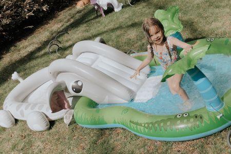 Kids inflatable pools under $50 💦 http://liketk.it/2Mcxa @liketoknow.it #liketkit #StayHomeWithLTK #LTKfamily #LTKkids #ltkunder50  Kiddie pool Target Walmart Amazon  Backyard pool Blow up pool