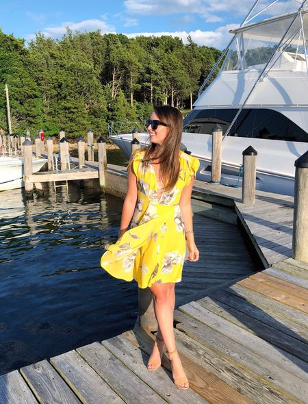 Casual yacht shopping before dinner in the Hamptons last weekend 💛 Of course I wore another @amazonfashion find because I'm obsessed! I'm wearing a M and scored this for $17! 😍 Took it from dinner to dancing 💃🏻 // Shop my daily looks by following me on the @liketoknow.it  app http://liketk.it/2wRdT #liketkit #LTKsalealert #LTKstyletip #dcblogger #amazonfashion #budgetblogger