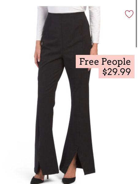 Free people flare pants on sale   #LTKsalealert #LTKunder50 #LTKSeasonal