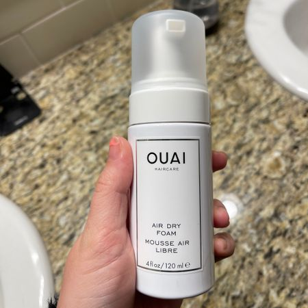 day one of using my new Ouai air dry foam and I think I'm in love 🥰 my waves are so defined without being frizzy - they're perfectly beachy!   http://liketk.it/3je3C #liketkit @liketoknow.it #LTKbeauty #LTKstyletip #LTKunder50