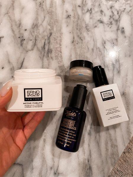 Nighttime skincare routine when my skin is feeling dry    #LTKbeauty