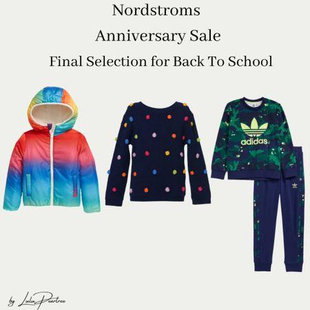 Nordstrom Sale Final picks for back to school.   #backtoschool #backtoschoolsale #kidsfashion #fallfashion #ltkseasonal #ltkfamily   #LTKunder100 #LTKkids #LTKsalealert