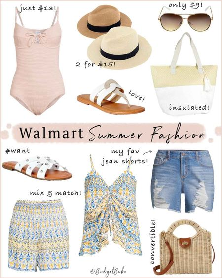 Swimsuits, sandals, shorts, yup @Walmart has it all! #ad But you knew that already. 😉🙌🏻💕 Here are my latest loves, linking everything in Stories and the LIKEtoKNOW.it app if you see something you like! ☀️❤️ http://liketk.it/3hQwf #liketkit @liketoknow.it #walmartfashion @walmartfashion