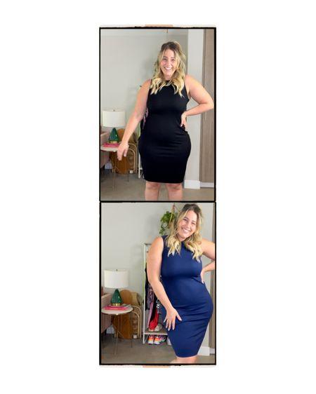 The WVVY ribbed dress 😍   RUNS TTS   Size large   Has amazing stretch   http://liketk.it/3cwdO #liketkit @liketoknow.it #LTKcurves #LTKfit
