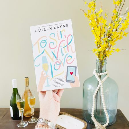 Champagne + romance + laugh out loud banter = the next weekend/beach/pool read you need in your life. 🥂📚  This fun rom-com from @laurenlaynewriter had me laughing out loud from start to finish. 😆 It follows two thirty somethings who meet on a blind dating app - only to realize their online chemistry is nothing compared to their offline rivalry. She owns a champagne shop and he is a real estate mogul looking to take over more than just her prime office space. 😉  For our friends who like to read something a little more PG when it comes to the romance department, TO SIR, WITH LOVE is for you! Enjoy!! 💛 🥂💛 #magnoliamamasbookclub  http://liketk.it/3jUhv #liketkit @liketoknow.it #LTKhome #LTKstyletip