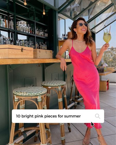 Bright colors for Summer, especially bright pink. 🦩 http://liketk.it/3gaf4  #liketkit @liketoknow.it #LTKstyletip