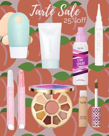 Tarte 25% off sale!   http://liketk.it/3htd5 #liketkit @liketoknow.it #LTKunder50 #LTKbeauty