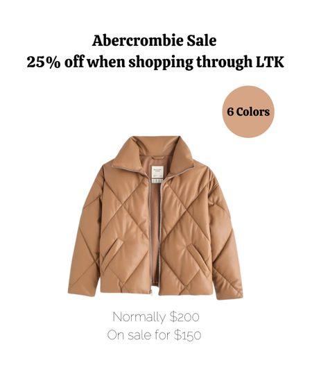 Fall outfits, fall fashion, fall, Abercrombie, coat, jacket.   #LTKsalealert #LTKSeasonal #LTKSale