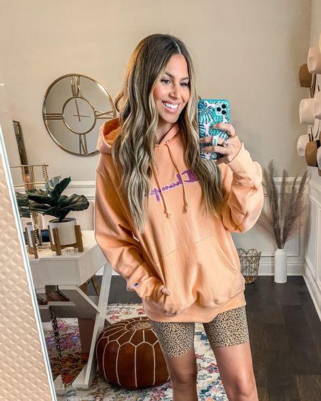 @liketoknow.it http://liketk.it/3k7SA #liketkit #nsale hoodie $10 shorts size m