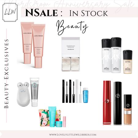 Nordstrom Anniversary Sale Beauty Sale In stock. Last Day to shop Sale Sunday August 8th! Shop Skincare, Makeup and Hair products here 🤍 Thanks for shopping with me lovelies xo    #LTKbeauty #LTKsalealert #LTKunder50