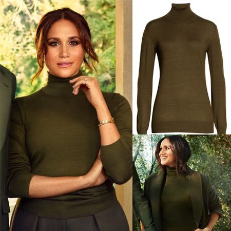 Meghan's The Row turtleneck last sizes at Nordstrom #sweater #fall  #LTKstyletip