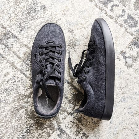 I got these all black sneakers for him. They came in women's whole sizes too in a few different colors. I would totally get them for myself if they have half sizes. They are woolly, soft, warm, and so comfortable that socks are optional. You can machine wash them on delicate and air dry. Plus, they are made from #renewable materials.🌿 (Link in bio) #sustainablefashion #sustainablesneakers http://liketk.it/2ZS8l @liketoknow.it #liketkit #LTKshoecrush #LTKstyletip #LTKunder100 #LTKmens #LTKfit @liketoknow.it.family