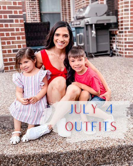 July 4 festive outfits for mama and the kids! http://liketk.it/3iRoH #liketkit @liketoknow.it