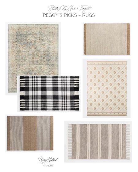 Target with Studio McGee rugs and runners, neutral, vintage inspired  // Peggy's Picks // Fall Collection http://liketk.it/2WqTV #liketkit @liketoknow.it #StayHomeWithLTK #LTKhome @liketoknow.it.home
