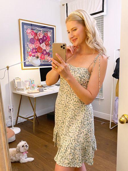 Amazon daisy dress, $31 - wearing size M!   #LTKunder50 #LTKunder100