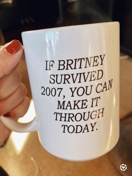 Just a friendly little Monday morning reminder #freebritney   #LTKhome #LTKunder50 #LTKworkwear