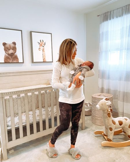 Dress up the baby but stay in leggings, yanno?  My waffle hoodie is only $27 with code MYSTERY! Also linking everything in this baby boy's nursery.   Screenshot any of my pics to shop in the @liketoknow.it app & give me a follow! #liketkit http://liketk.it/39T5Q @liketoknow.it.family @liketoknow.it.home #LTKbaby #LTKfamily #LTKunder50