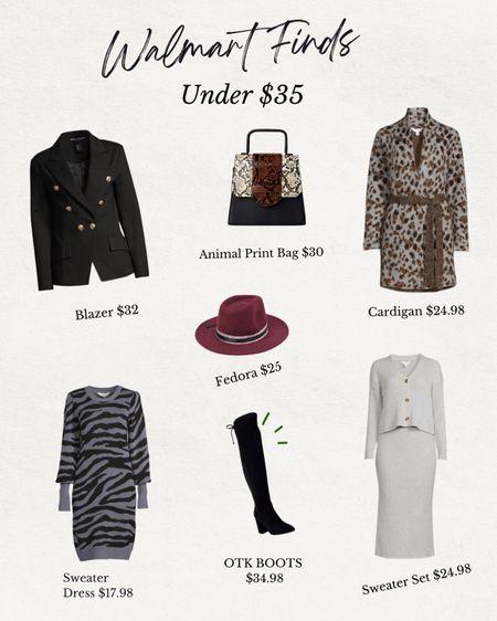 Fall Favorites from Walmart all under $35   #LTKsalealert #LTKcurves #LTKunder50