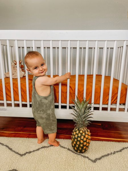 Hayden's room in the new house!   Baby boys room. Crib. Rug.   #LTKhome #LTKfamily #LTKkids