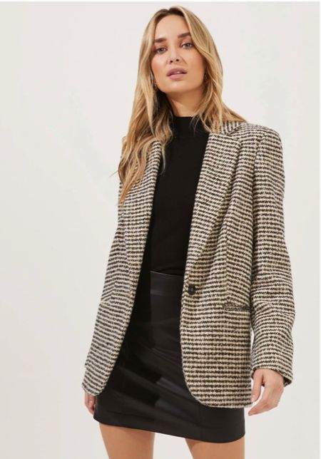 Purchased this dupe for the Anine Bing blazer    #LTKworkwear #LTKstyletip