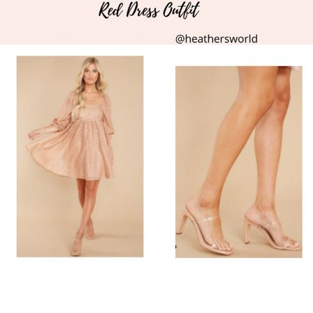 Red Dress Outfit   #lkit #reddrress outfit #styling #outfitstyling    #LTKstyletip #LTKunder50 #LTKshoecrush