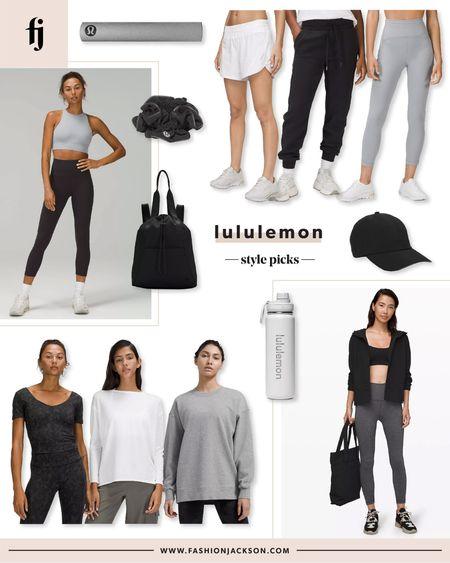 Lululemon new fitness picks #workout #activewear #loungewear #athleisure #fashionjackson  #LTKunder100 #LTKfit #LTKunder50