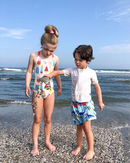 Summer living ☀️🍦🐚  #swimsuitsforever  #LTKfamily #LTKkids