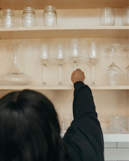 Wine and cocktail glasses http://liketk.it/32EjY #liketkit @liketoknow.it #LTKunder50 #LTKunder100 #LTKhome