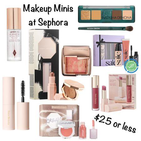 Makeup Minis at Sephora! Great gifts and stocking stuffers!  #steffsbeautystash   #LTKbeauty #LTKHoliday
