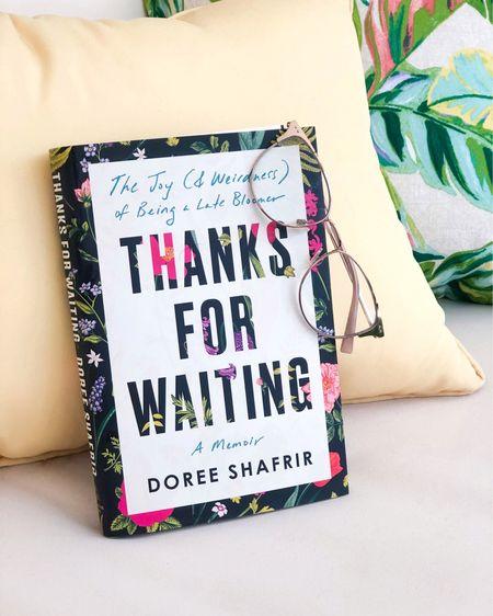 Summer reading recommendation. Book: Thanks for Waiting by Doree Shafrir  #LTKhome #LTKSeasonal #LTKunder50