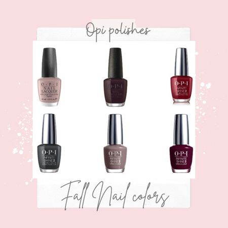 fall Nail colors you'll love! . Talked about on Chit Chat Chic🌸 . .   #LTKbeauty #LTKstyletip #LTKunder50