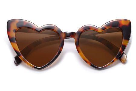 Heart shaped sunglasses ❤️❤️❤️ http://liketk.it/38692 #LTKstyletip #LTKSeasonal #liketkit @liketoknow.it Shop your screenshot of this pic with the LIKEtoKNOW.it shopping app