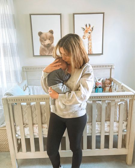 What day is it? Cool, me neither.  Linking my puff-sleeve tie dye sweatshirt on sale under $35 in tons of colors, solids and prints! Also in love with this baby boy's nursery - linking his crib and decor.  Screenshot any of my pics to shop in the @liketoknow.it app & give me a follow! http://liketk.it/3bIEe #liketkit @liketoknow.it.home @liketoknow.it.family #LTKfamily #LTKbaby #LTKhome