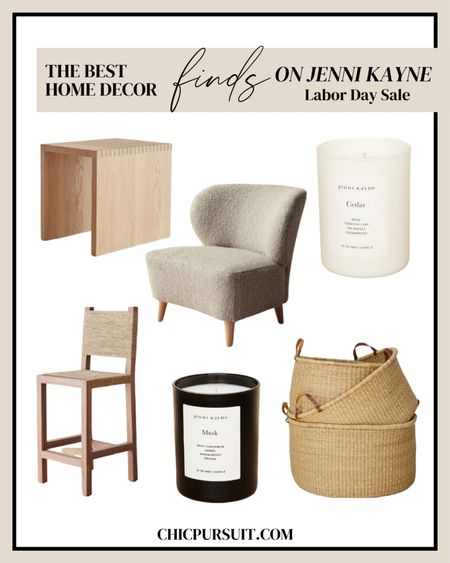 Never pass up a sale when it comes to gorgeous minimalist home decor! Luckily Jenni Kayne's Labor Day Sale includes a wide range of home decor, clothes, accessories, and a whole lot more. 💞✨ Get 20% off site wide with code FRESHSTART @liketoknow.it minimalist home decor,   scented candles, cozy white accent chair, counter stool, boho basket, side table http://liketk.it/3mYY8 @liketoknow.it #liketkit @liketoknow.it.home #LTKsalealert #LTKhome #LTKstyletip