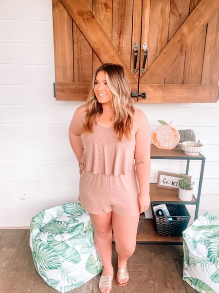 Literally the most effortless comfy romper you could ever buy! RUNNNNN before it's gone! You can instantly shop my looks by following me on the LIKEtoKNOW.it shopping app @liketoknow.it.home @liketoknow.it.family @liketoknow.it #liketkit #LTKbeauty #LTKunder50 #LTKshoecrush http://liketk.it/3fFEQ