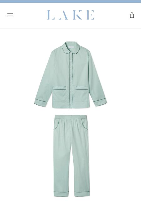 Lake Pajamas New Arrivals are GREEN and perfect for fall or holiday season   #LTKbump #LTKunder100