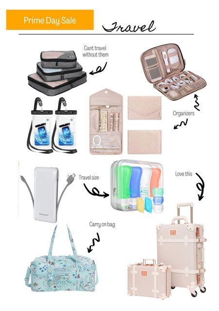 Amazon prime day. Amazon sale. Travel. Packing cubes. Luggage.  #LTKsalealert #LTKtravel #LTKSeasonal