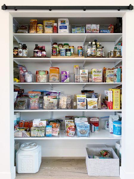 Simple Pantry Organization! #pantry #pantryorganization #organization #elfa #elfasale   #LTKhome