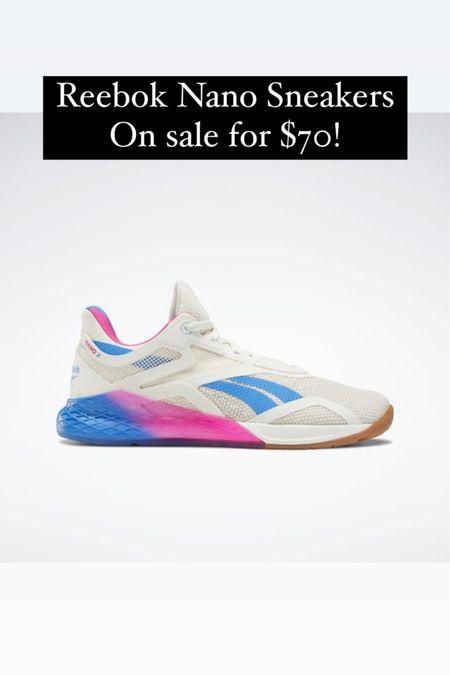 Reebok sneakers on sale for $70 @liketoknow.it #liketkit http://liketk.it/3ijg7 #LTKunder100 #LTKshoecrush #LTKsalealert