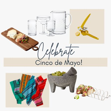 Celebrate Cinco de Mayo in style! Shop serving boards, taco racks, lime juicers, cocktail glasses and more! http://liketk.it/3ey7T #liketkit @liketoknow.it #LTKfamily #LTKhome #LTKstyletip @liketoknow.it.home