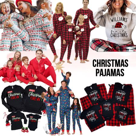 Christmas pjs Holiday pajamas   #LTKGiftGuide #LTKHoliday #LTKSeasonal