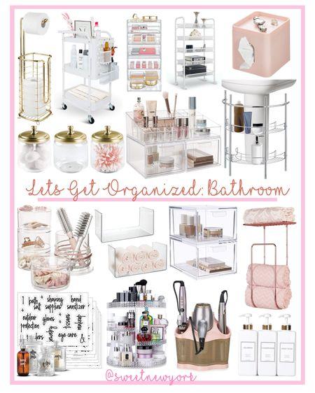 Bathroom storage and organization http://liketk.it/3g3l6 @liketoknow.it #liketkit #LTKhome #LTKbeauty #LTKfamily