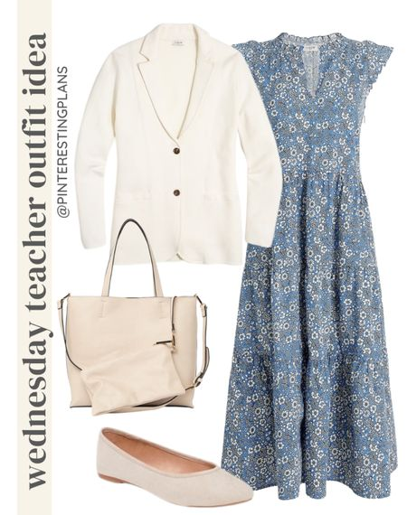 Wednesday teacher outfit idea🙌🏻🙌🏻  #LTKshoecrush #LTKitbag #LTKstyletip